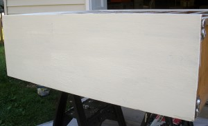 side of the dresser - 1 coat