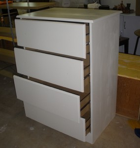 Small Dresser Painted