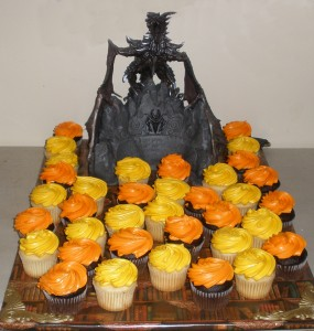 Cupcakes for the guests