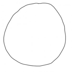 Step 1: Start with a circle