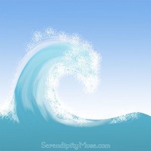 Day 113: Wave Painting