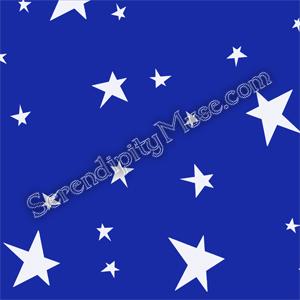 Day 117: Stars 1 Fabric Design