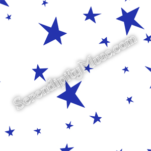 Day 117: Stars 2 Fabric Design