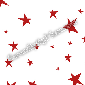 Day 117: Stars 3 Fabric Design