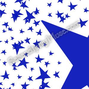 Day 118: Stars 11 Fabric Design