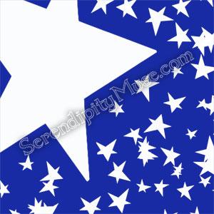 Day 118: Stars 9 Fabric Design
