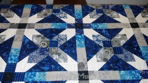 Day 175: Pin-Basted Quilt for ManChild