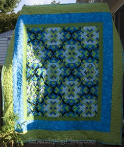 Day 271: The birthday Quilt