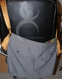 Day 287: Suit Tote (back)