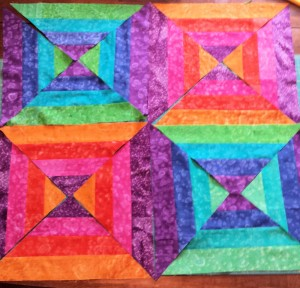 Baby Quilt Top Sampled
