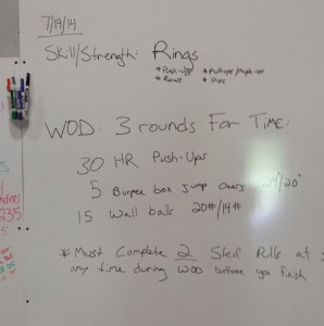 Crossfit Workout of the Day