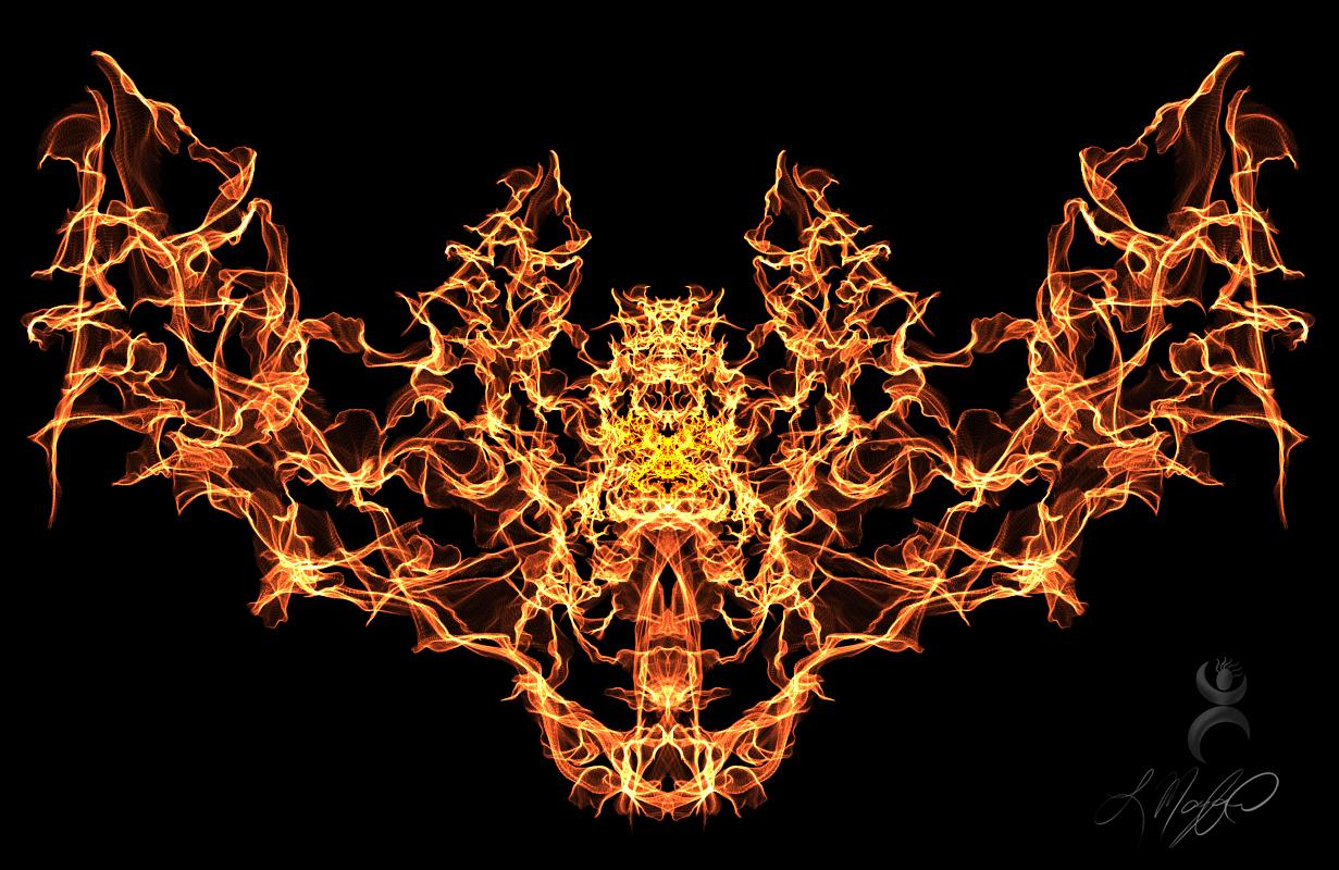 """""""Phoenix Wings"""", created at weavesilk.com"""